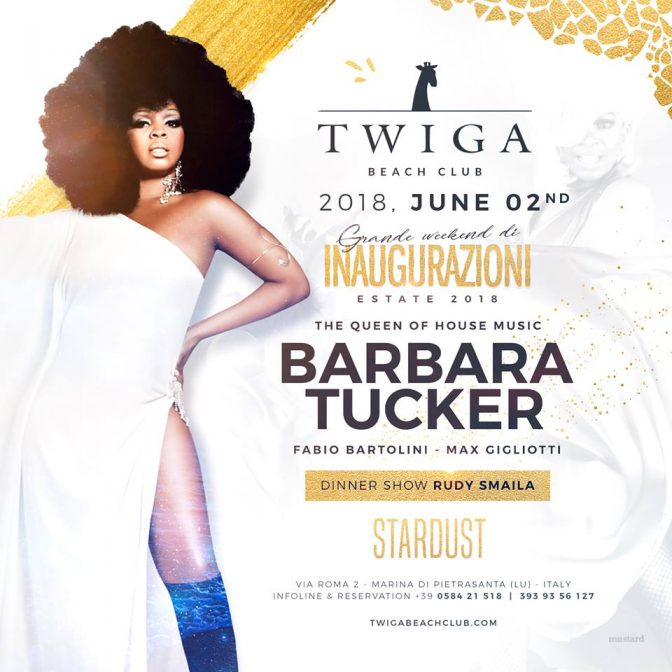 twiga beach club barbara tucker