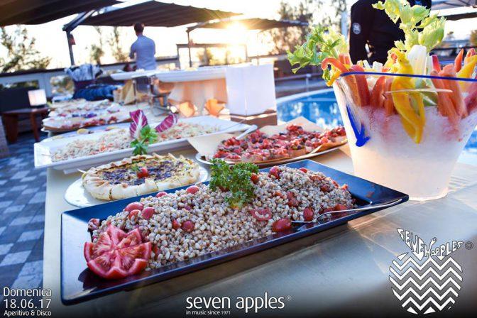 apericena aperitivo domenica seven apples