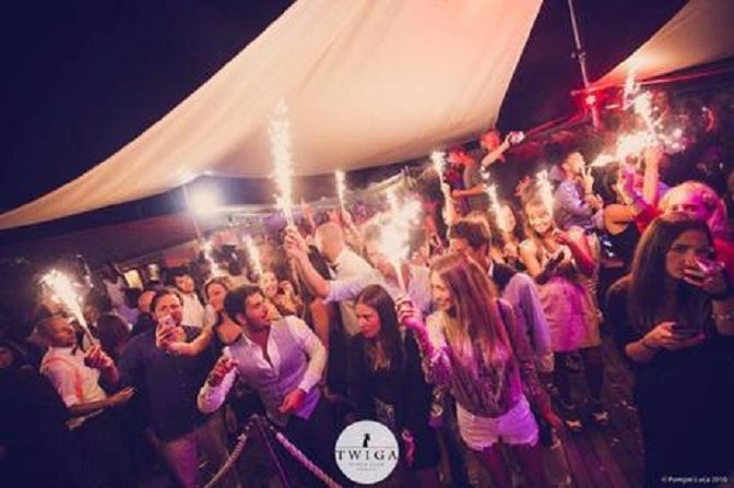 discoteca twiga beach giovedì