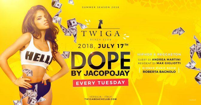 17 luglio twiga beach