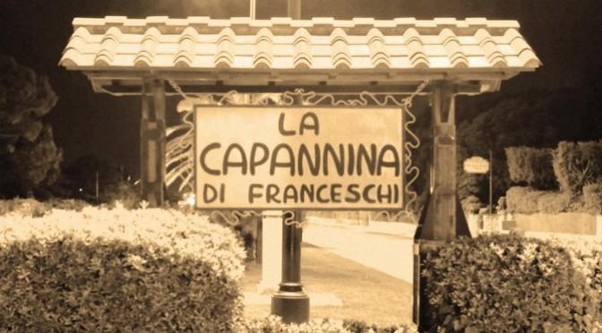 programma la capannina di franceschi