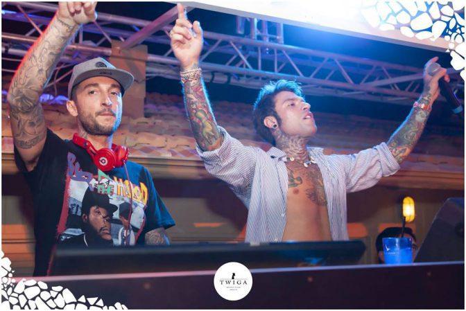 discoteca più esclusiva d'italia foto fedez twiga beach