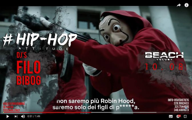 hip hop attitude discoteche versilia