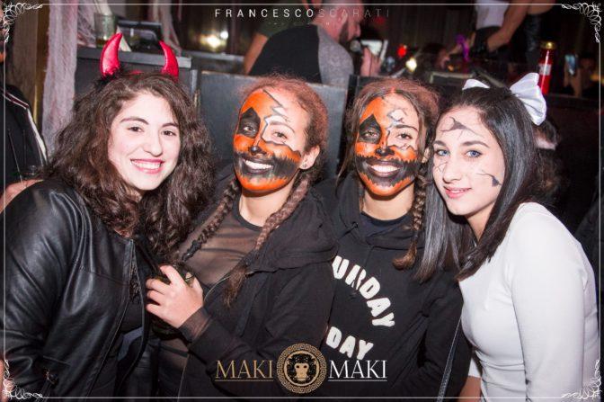 halloween maki maki viareggio