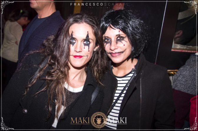 serate a viareggio halloween maki maki