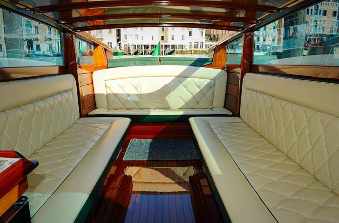 water taxi venezia comfort