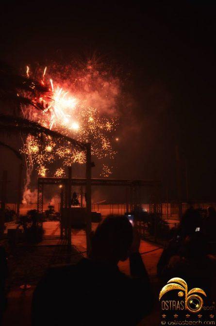 capodanno 2019 versilia con fuochi d'artificio