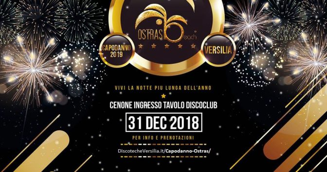 capodanno ostras beach club