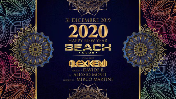 capodanno versilia 2020 beach club
