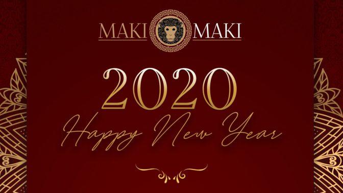 capodanno versilia 2019/2020 maki maki
