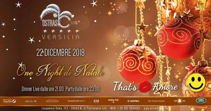 ostras beach club, Ostras Beach Club: 22 e 31 Dicembre.