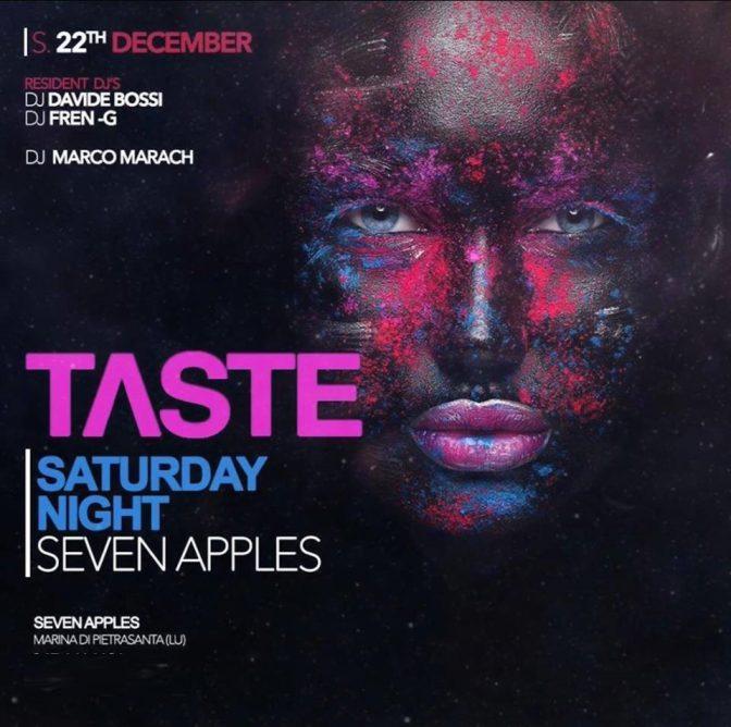 seven apple discoteche versilia