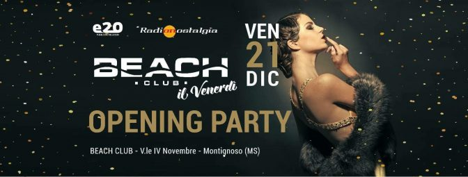 venerdi beach club