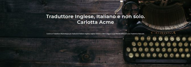 traduzione inglese italiano