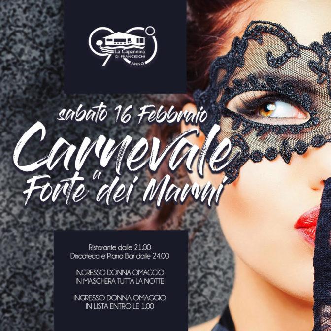 festa in maschera, Festa in maschera alla Capannina di Franceschi