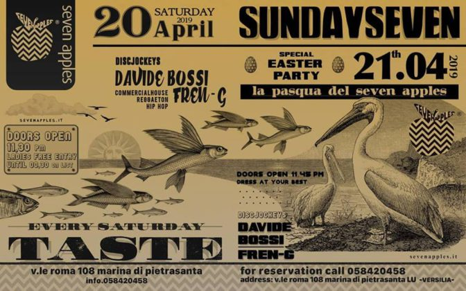 pasqua in versilia seven apples