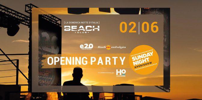 domenica beach discoteche versilia