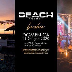inaugurazione domenica beach club