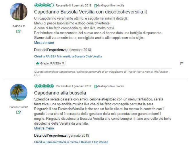 recensioni bussola versilia