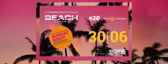 domenica beach club discoteche versilia
