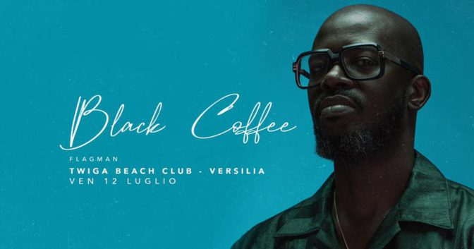 black coffee twiga beach versilia