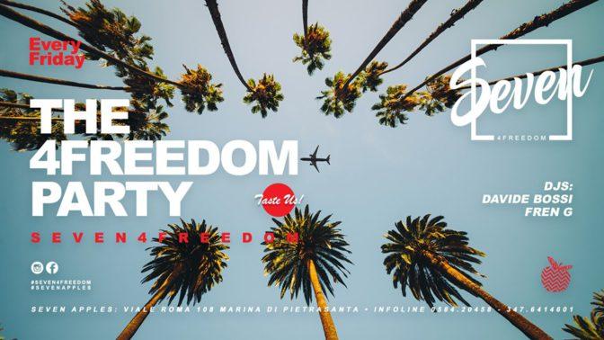 seven for freedom discoteche in versilia