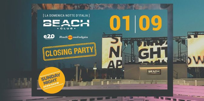 domenica beach club discoteche in versilia