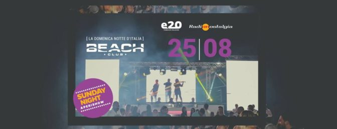 domenica beach discoteche in versilia