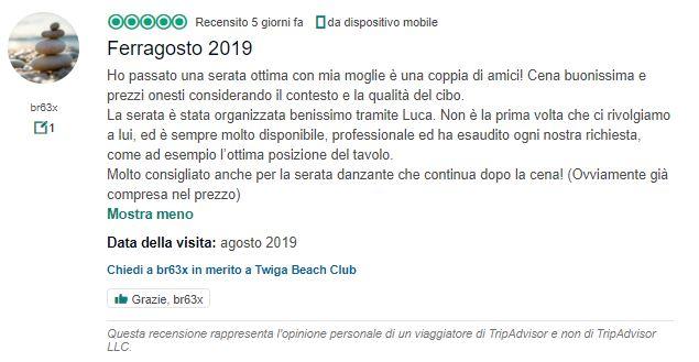 recensioni miglior discoteca italiana