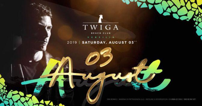 sabato twiga beach discoteche versilia