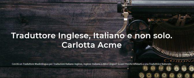 traduttori inglese italiano